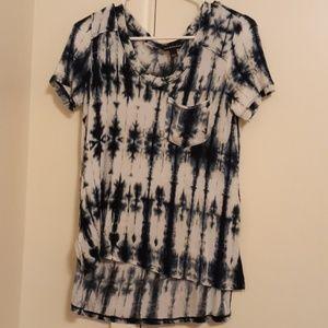Rock & Republic distressed women's t-shirt